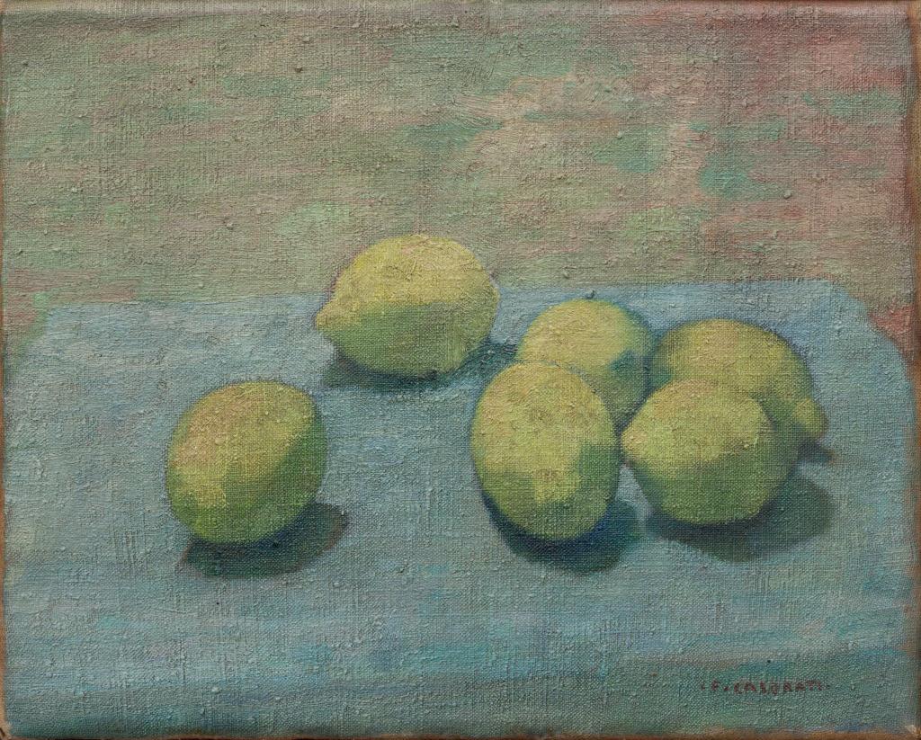 Casorati - Limoni o Natura morta