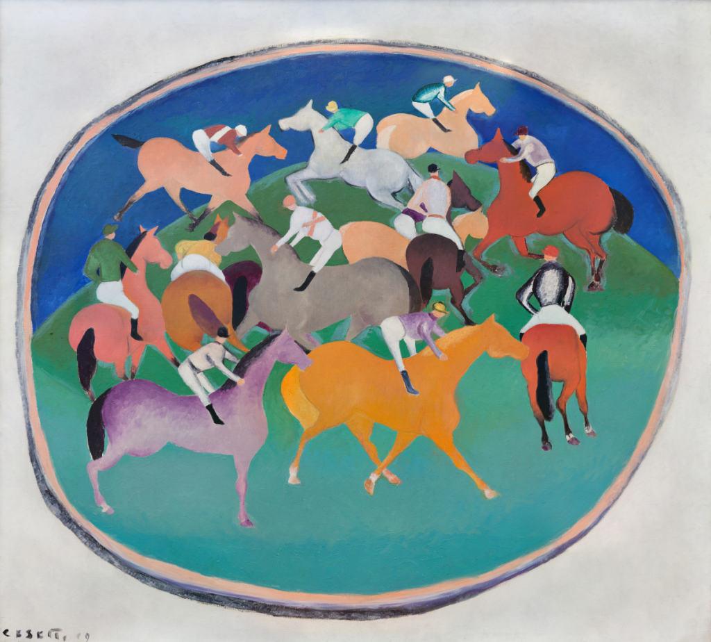 Cesetti - Cavalli nel cerchio