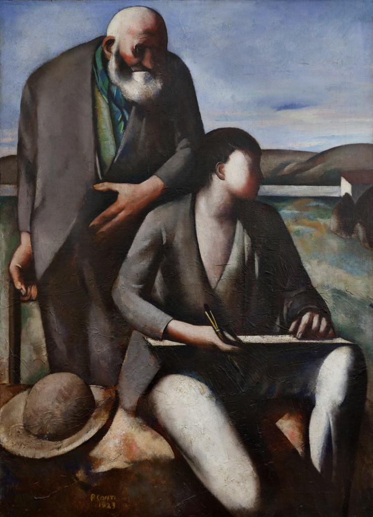 Conti - Giotto e cimabue
