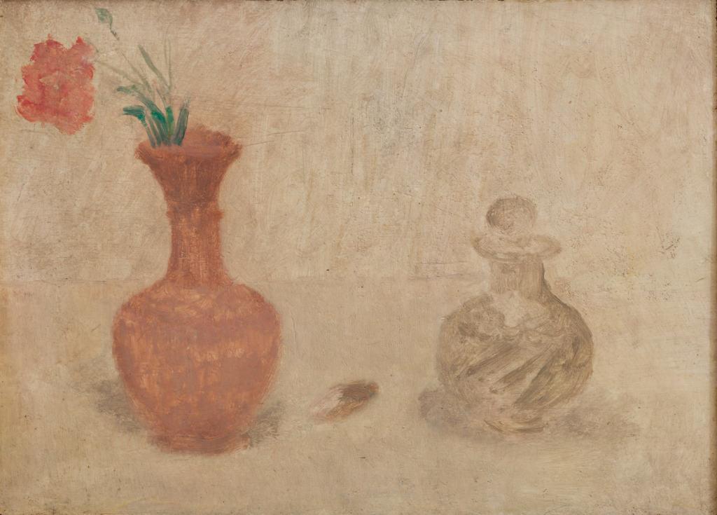 Ianni - Bottiglie e garofano