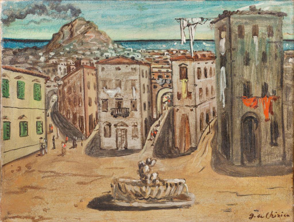 de Chirico - Paesaggio di Napoli
